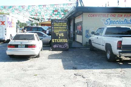 Classic Auto Interiors U0026 Accessories, Inc.   Complete Line Of Auto  Upholstery, Leather And Convertible Top Specialists. 4901 N. Armenia Ave.